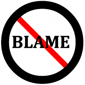 Blame may feel better than guilt or other low-vibration emotions, but it never makes you feel good