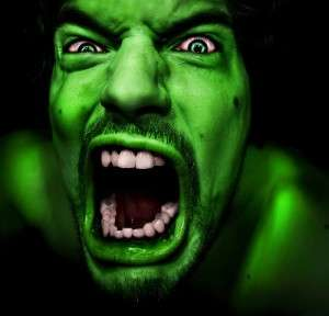 When you're angry, you know it!